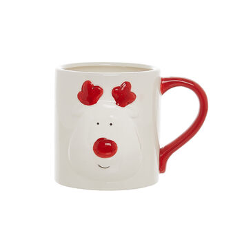 Rudolph ceramic mug