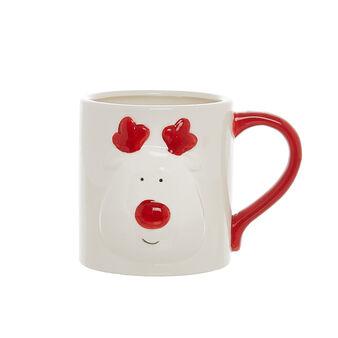 Mug in ceramica Rudolph
