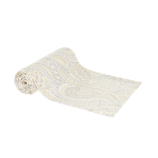 Arabesque throw in 100% cotton