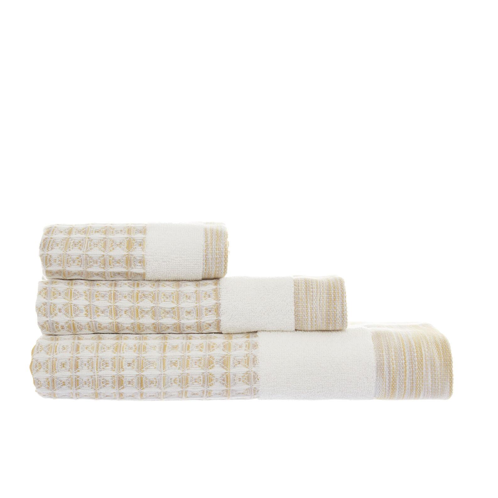 Asciugamano puro cotone nido d'ape