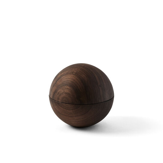 Walnut container by Agustina Bottoni