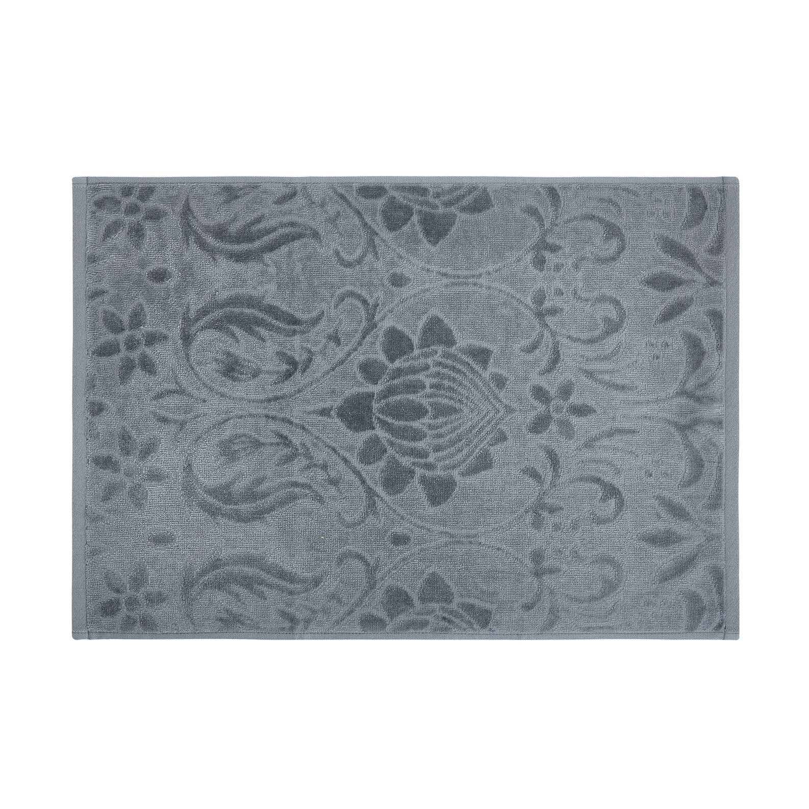 100% cotton towel with damask design