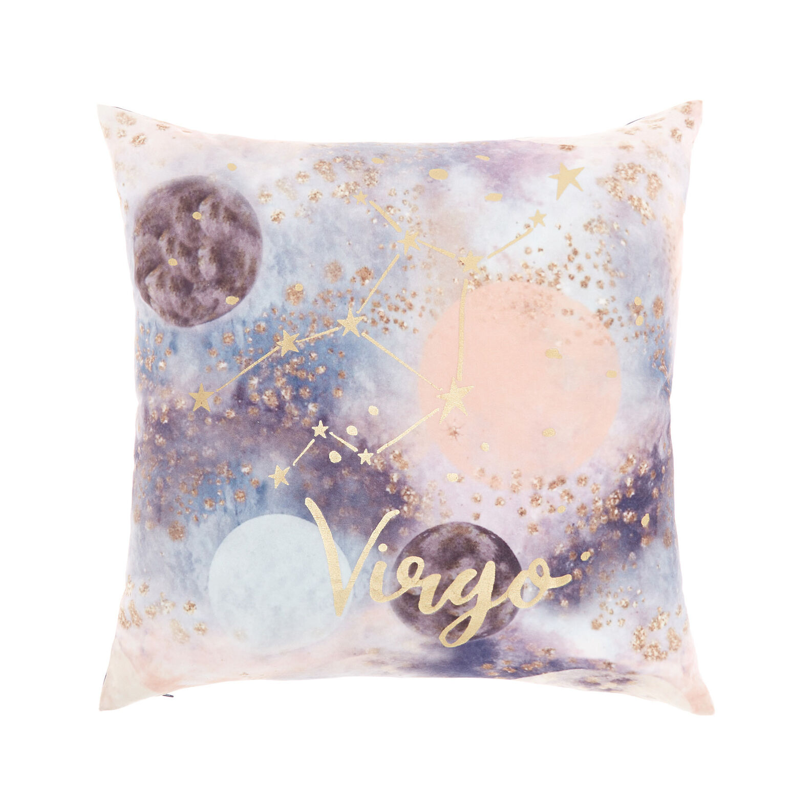 Cushion cover with Virgo print 45x45cm