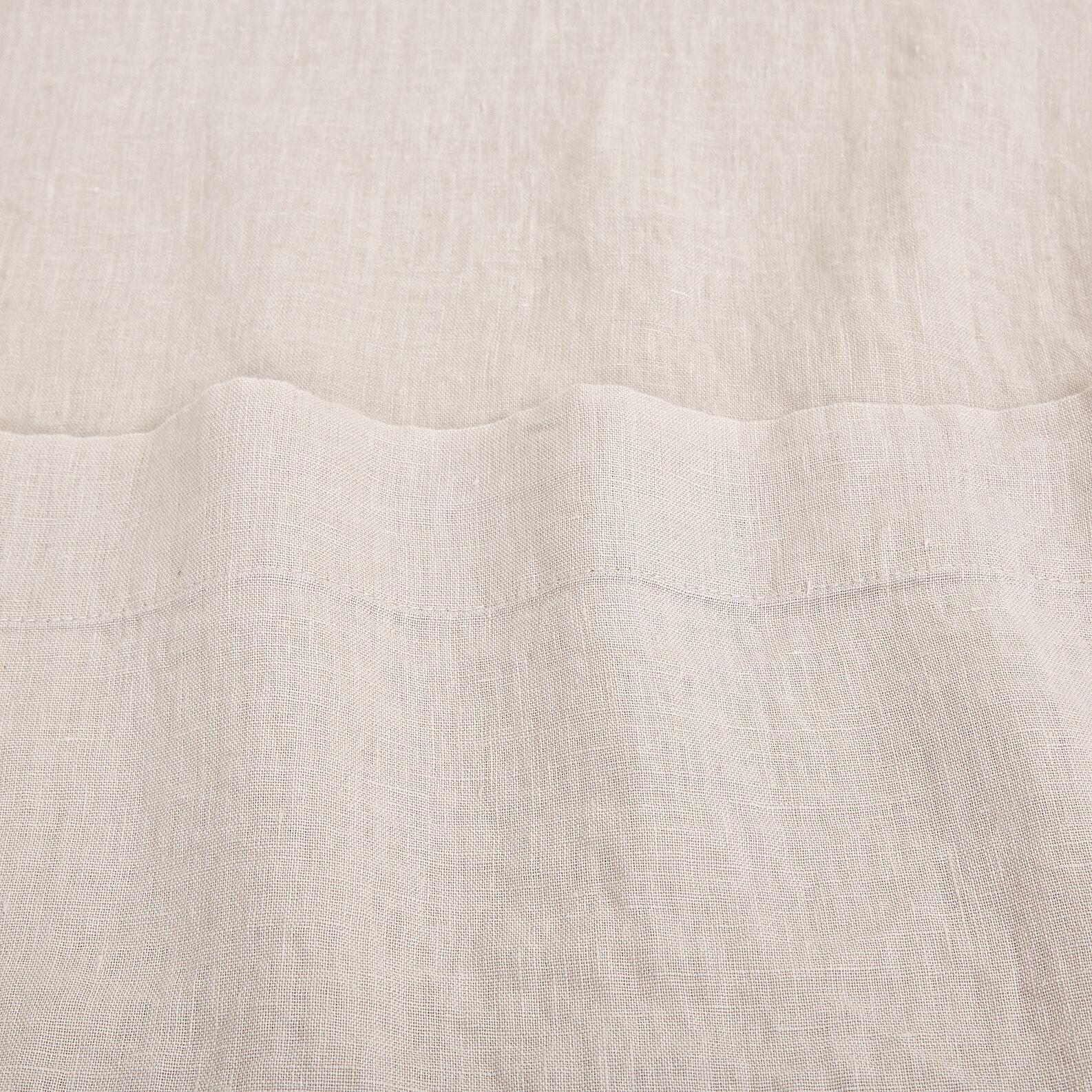 Lenzuolo liscio lino alta qualità Interno 11