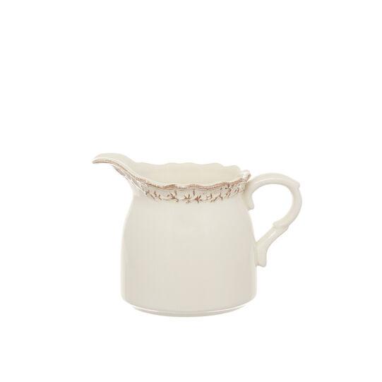 Lattiera in ceramica decorata Genny