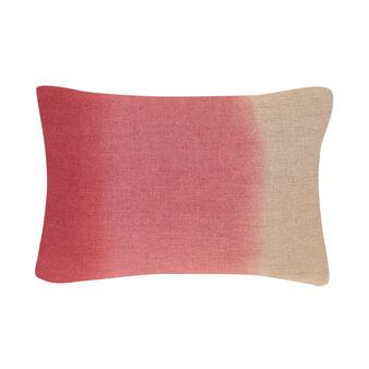 Cuscino rettangolare lino stampa tie and dye