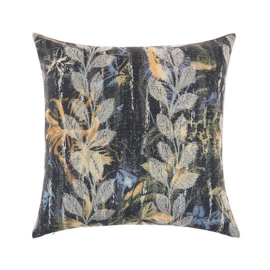 Cushion with botanical print 45x55cm