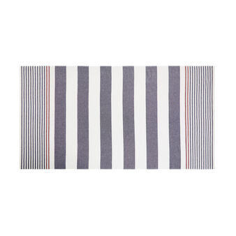 100% cotton striped hammam-style beach towel