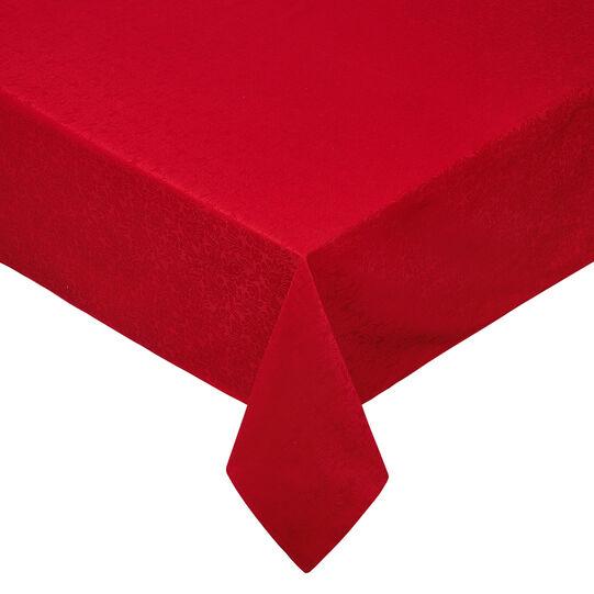 Jacquard-weave cotton tablecloth and napkins set