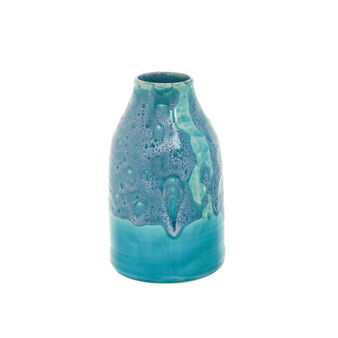 Hand-crafted vase in coloured Portuguese ceramic
