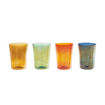 Bicchiere in originale Vetro di Murano soffiato a bocca