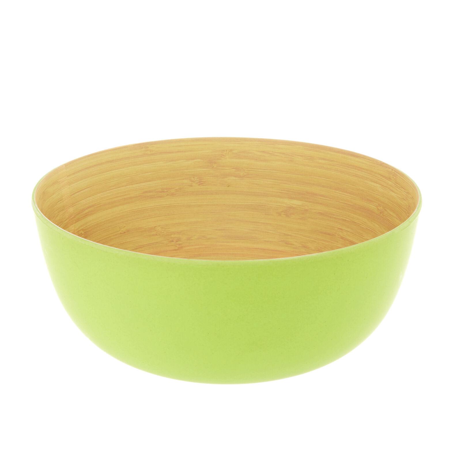 Insalatiera bamboo verde
