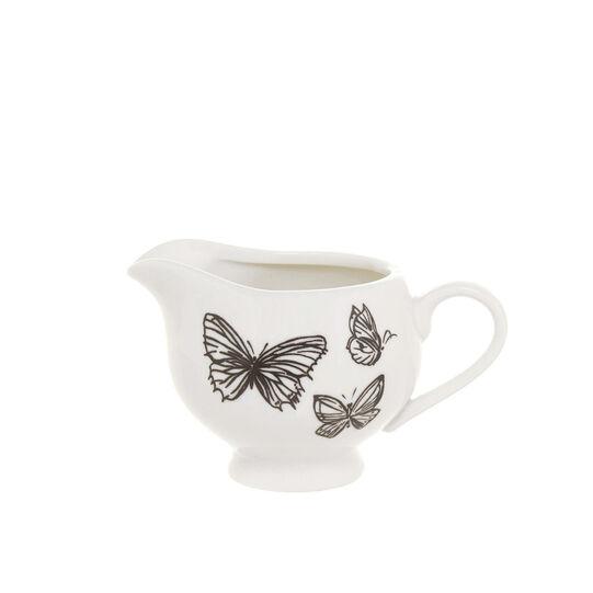 Lattiera new bone china farfalle