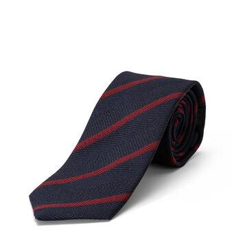 Cravatta pura seta motivo righe