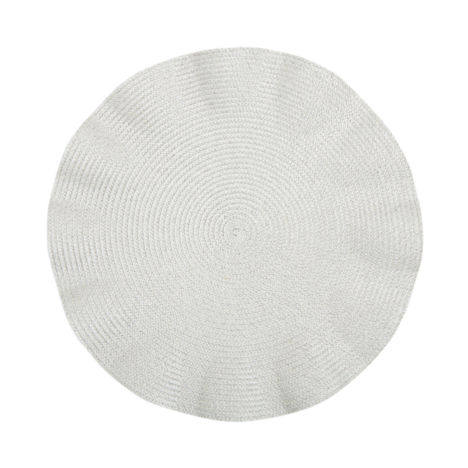 Table mat in wavy plastic