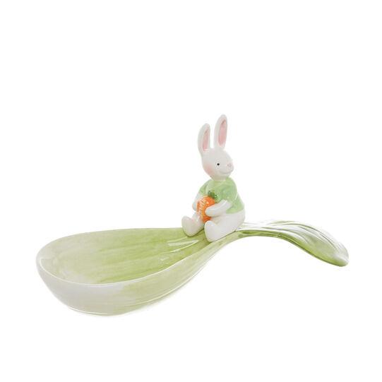 Coppetta ceramica decoro coniglio