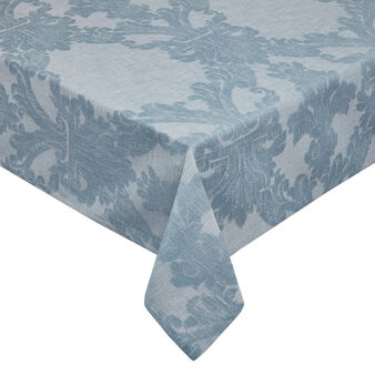 Tablecloth with jacquard design