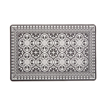 Plastic table mat with Morocco decoration