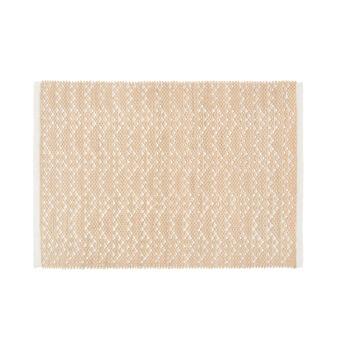 Cotton bath mat with design