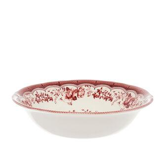 Insalatiera in ceramica decoro floreale Victoria