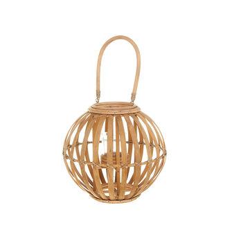 Lanterna bamboo intrecciato