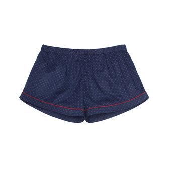 Shorts cotone a pois