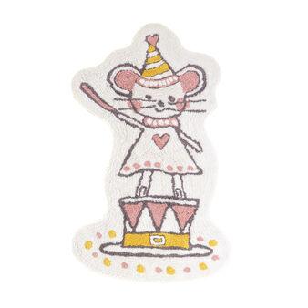 Cotton girl mouse mat