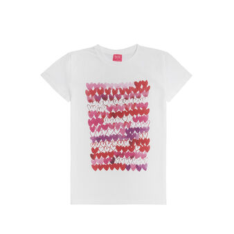 100% cotton t-shirt with Sandra Jacobs print