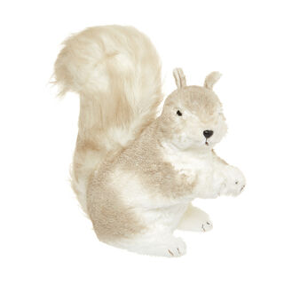 Decorative squirrel soft toy