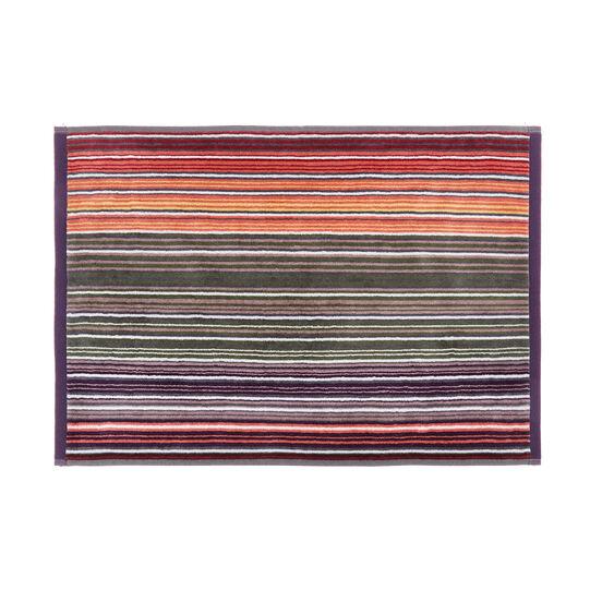 Asciugamano cotone velour righe multicolor