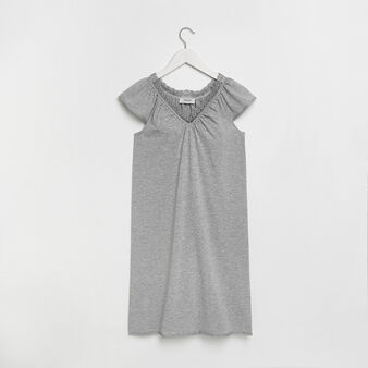Cotton jersey nightgown