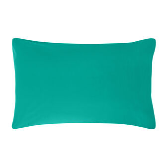 2 Pillowcases in plain percale cotton
