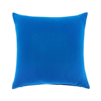 Solid colour cotton cushion