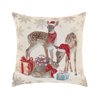Gobelin cushion with Christmas motif 45x45cm