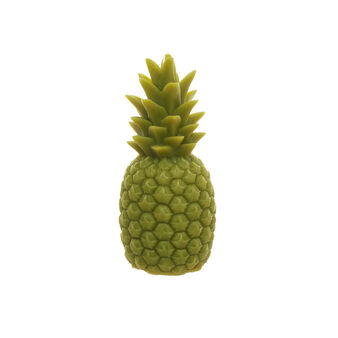 Green pineapple candle