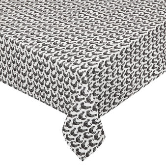 100% cotton tablecloth with chicken print