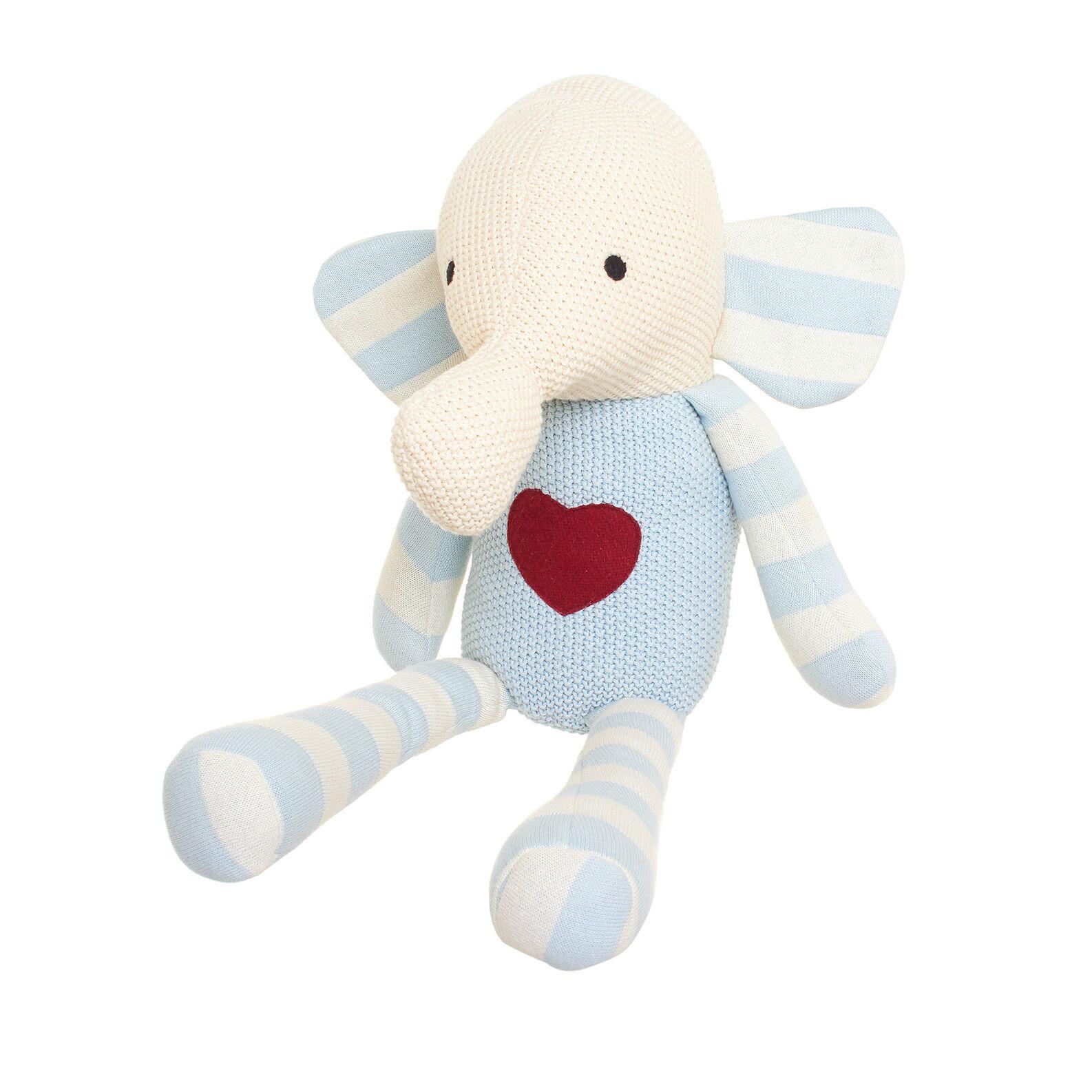 Elefante in cotone a maglia