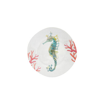 Melamine side plate with fish motif
