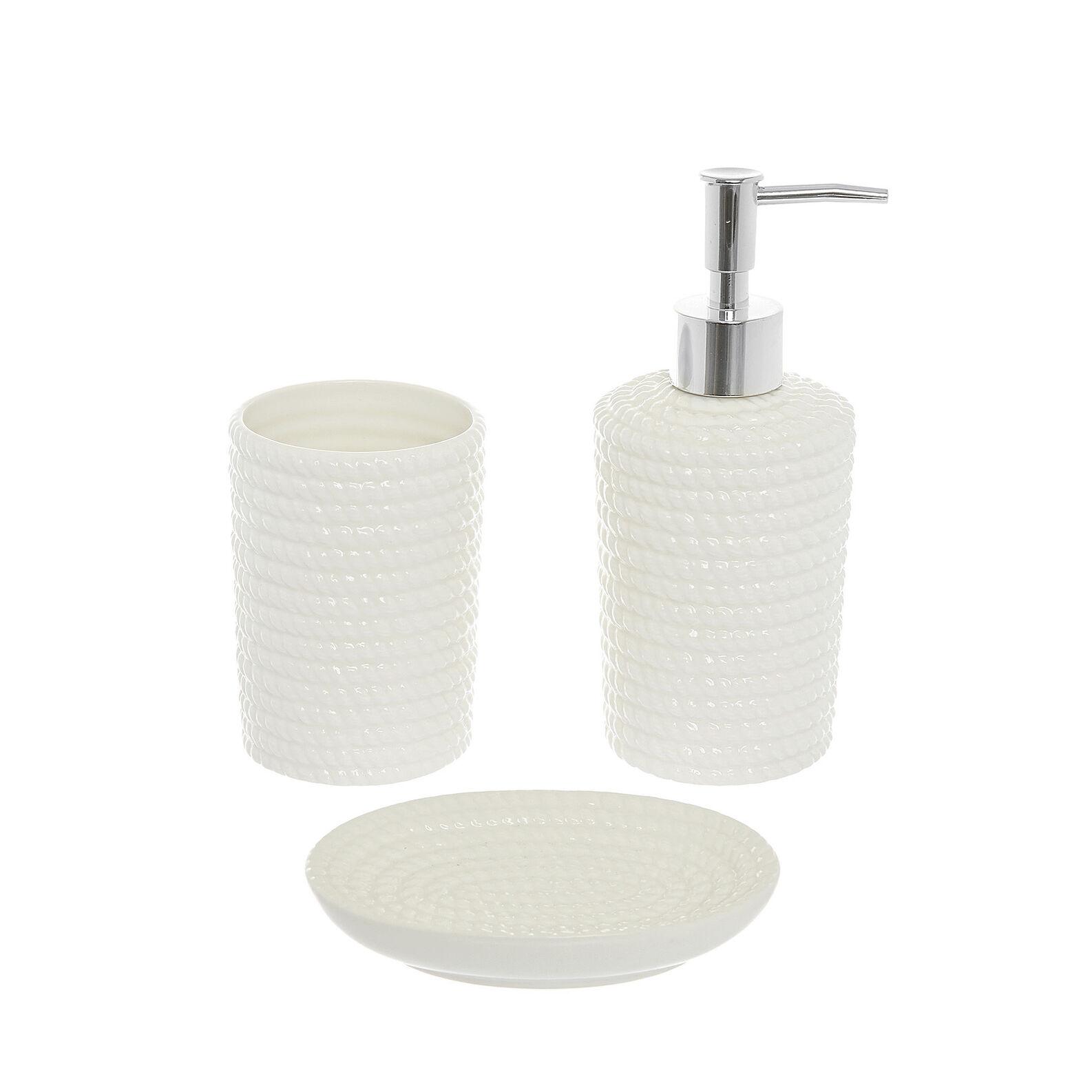Dispenser ceramica motivo corda