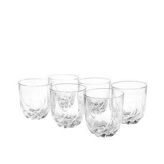 Set 6 bicchieri vetro Trix