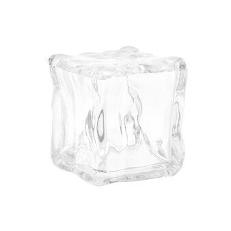 Portacotone plastica effetto ghiaccio Ice