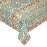 100% cotton tablecloth with ornamental print