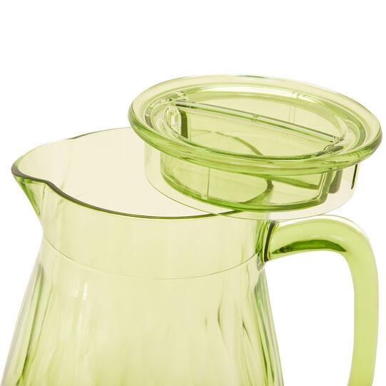 Green plastic carafe