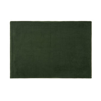 Solid colour cotton corduroy table mat