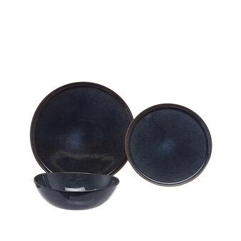 Space stoneware tableware range