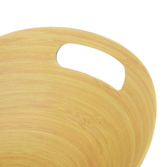 Insalatiera fibra di bamboo e legno