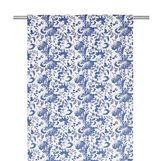 Tendina puro cotone stampa floreale
