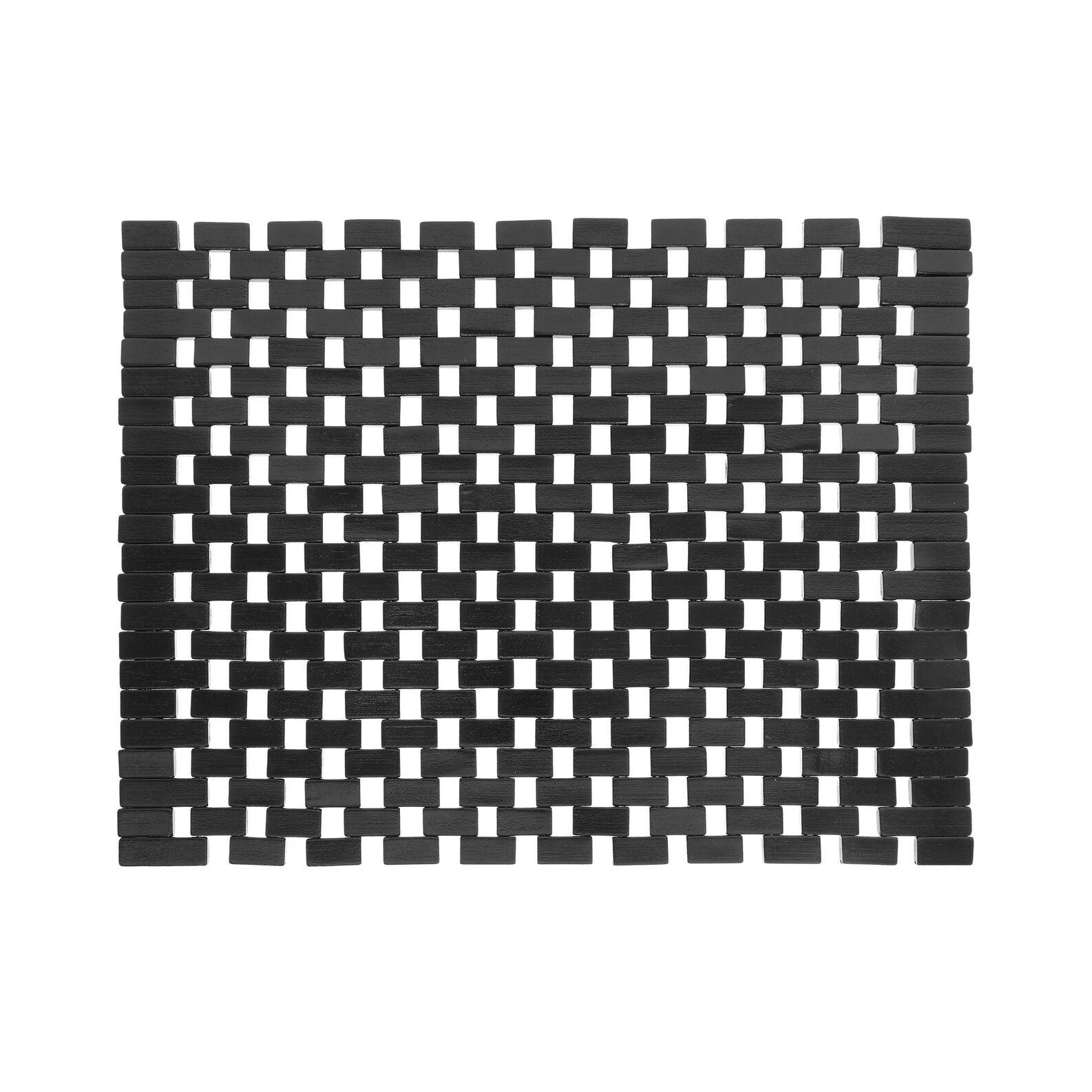 Woven bamboo table mat