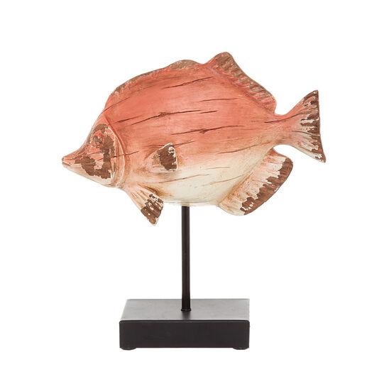 Pesce decorativo rifinito a mano