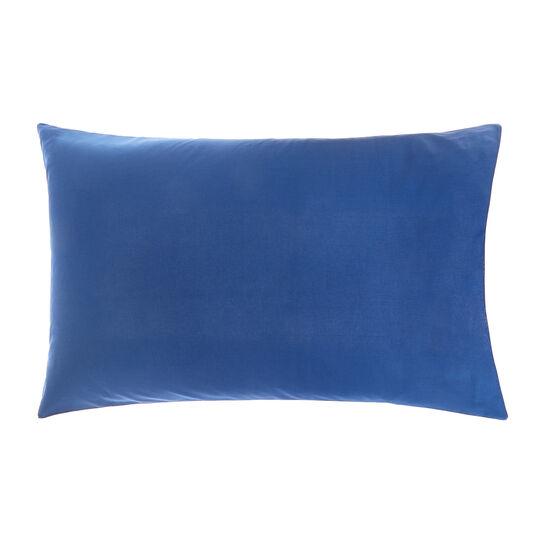Solid colour pillowcase in cotton